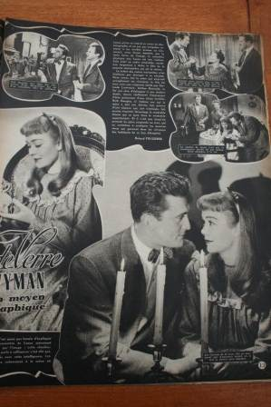 Jane Wyman Kirk Douglas