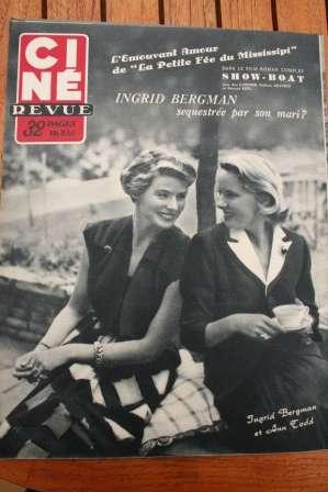 Ingrid Bergman Ann Todd