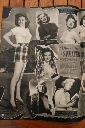Susan Hayward Kathleen Hughes June Haver