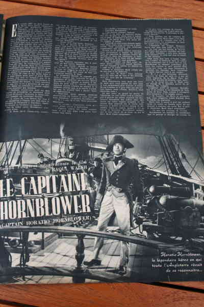 Gregory Peck Virginia Mayo Captain Hornblower
