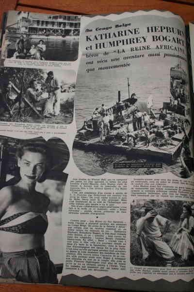 Katharine Hepburn Humphrey Bogart African Queen