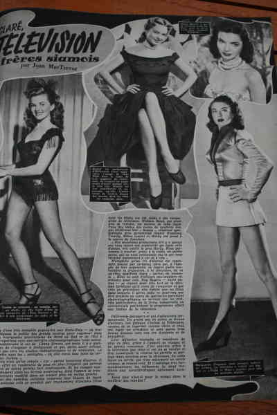 Phyllis Coates Jane Nigh Marguerite Chapman