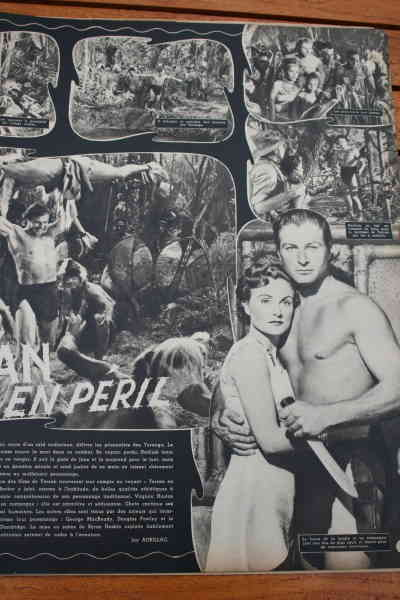 Lex Barker Virginia Huston Tarzan