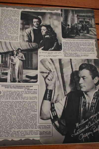 Susan Hayward Gregory Peck