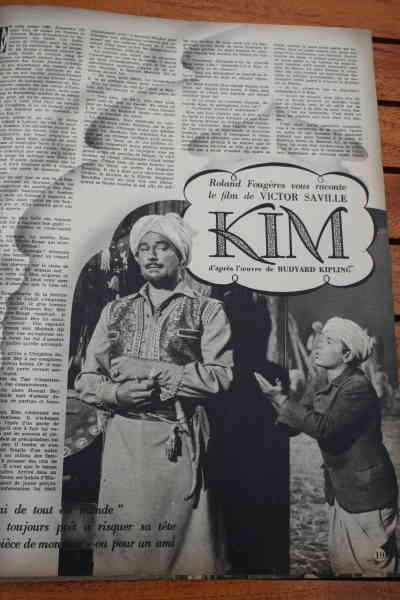 Errol Flynn Dian Stockwell Paul Lukas - Kim