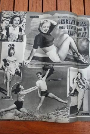 Marilyn Monroe Mitzi Gaynor