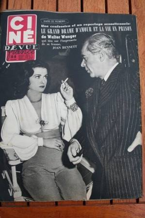 Walter Wanger Joan Bennett