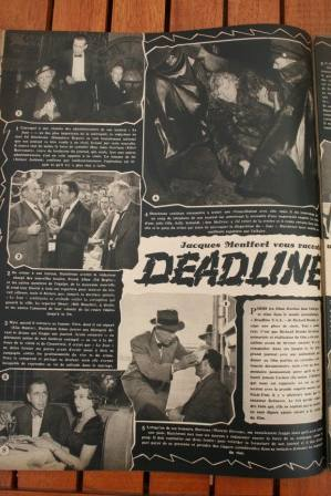 Kim Hunter Humphrey Bogart Deadline USA