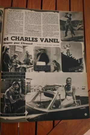 Yves Montand Charles Vanel Salaire De La Peur