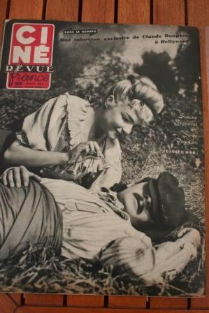 Serge Reggiani Simone Signoret