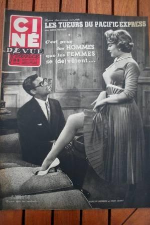 Marilyn Monroe Cary Grant