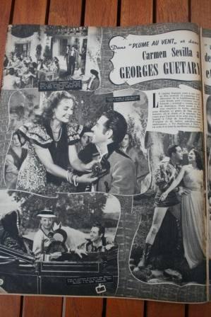 Georges Guetary Luis Mariano Carmen Sevilla