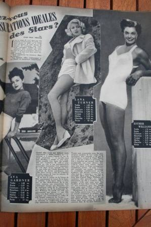 Esther Williams Lana Turner Ava Gardner