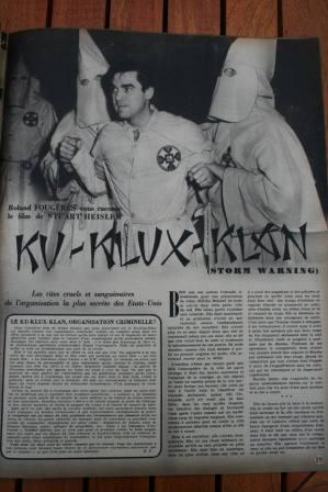 Ginger Rogers Doris Day Ronald Reagan Ku Klux Klan