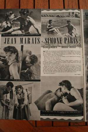 Jean Marais Simone Paris