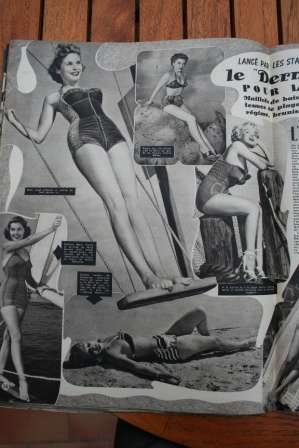 Marilyn Monroe Barbara Bates Janet Leigh Anne Baxter