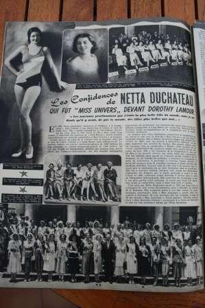 Miss Universe 1931 Netta Duchateau