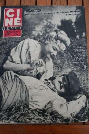 Serge Reggiani Simone Signoret Casque D'Or