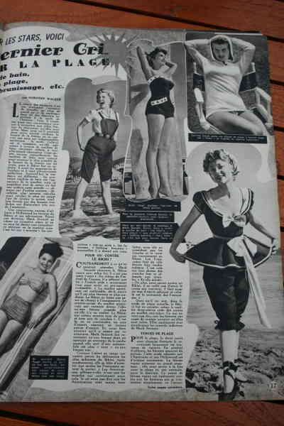 Janet Leigh Debra Paget Glynis Johns