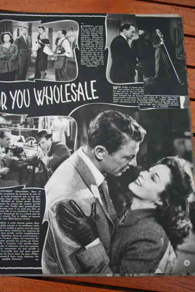 Susan Hayward Dan Dailey (paper missing top right)
