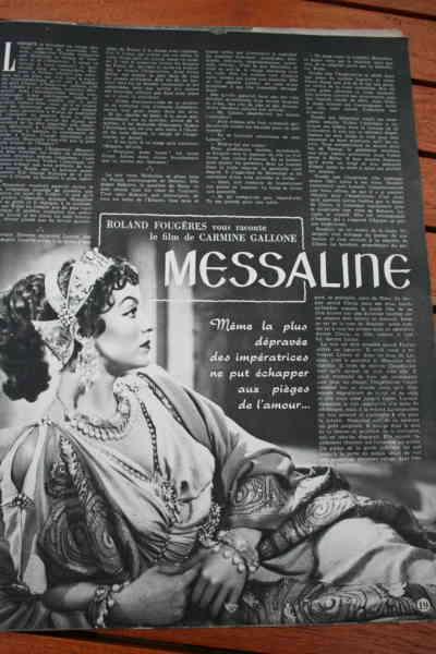 Maria Felix Georges Marchal Messaline