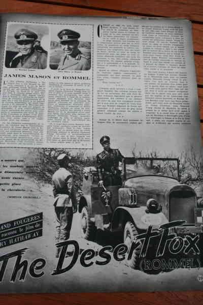 James Mason Jessica Tandy Desert Fox Rommel