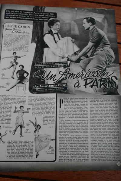Gene Kelly Leslie Caron An American In Paris