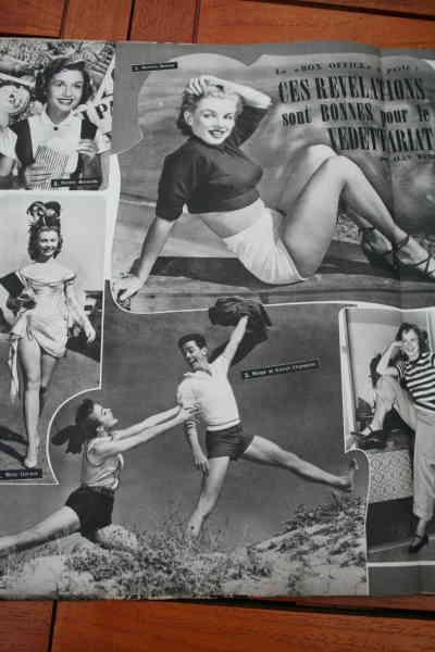 Marilyn Monroe Mitzi Gaynor Debbie Reynolds