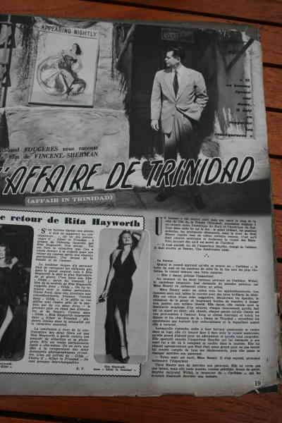 Rita Hayworth Glenn Ford - Affair In Trinidad