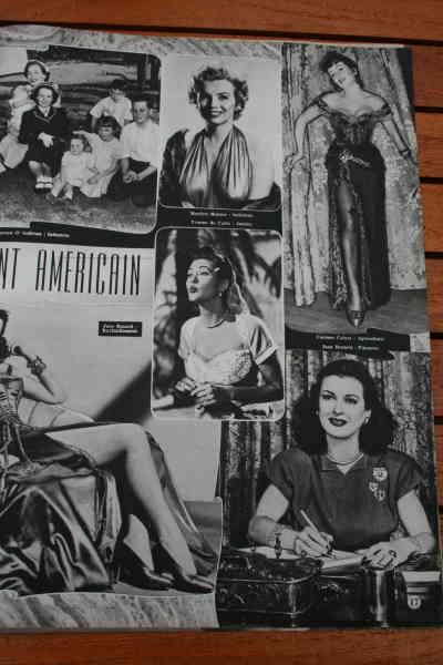 Marilyn Monroe Yvonne De Carlo Jane Russell