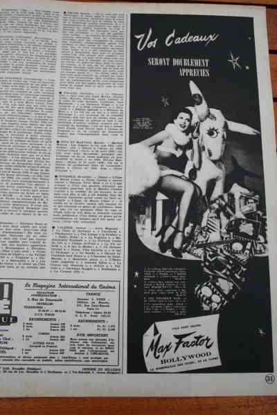 Ann Miller - Max Factor Ad