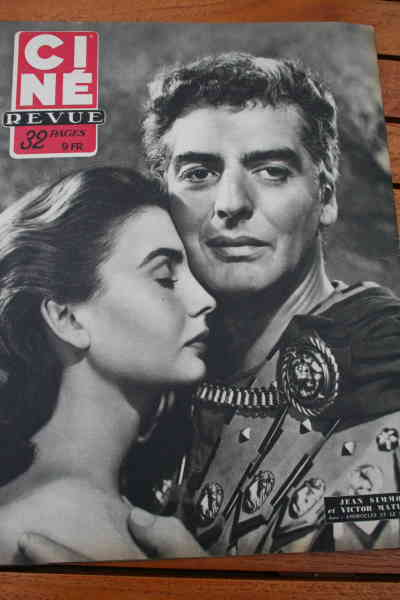 Jean Simmons Victor Mature