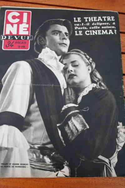 Gerard Philipe Jeanne Moreau