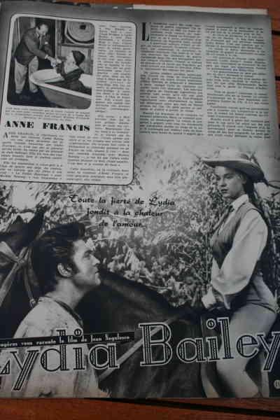 Anne Francis Dale Robertson Lydia Bailey