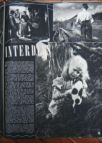 Brigitte Fossey Jeux Interdits