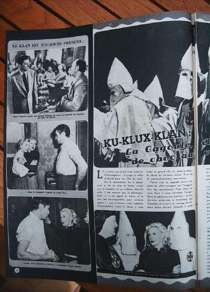 Ku Klux Klan Ronald Reagan Ginger Rogers