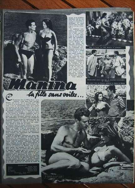 Brigitte Bardot Manina La Fille Sans Voile