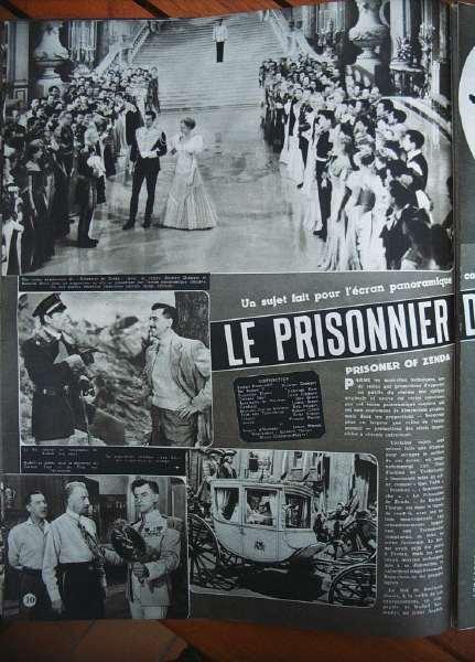 Stewart Granger Deborah Kerr Prisoner Of Zenda