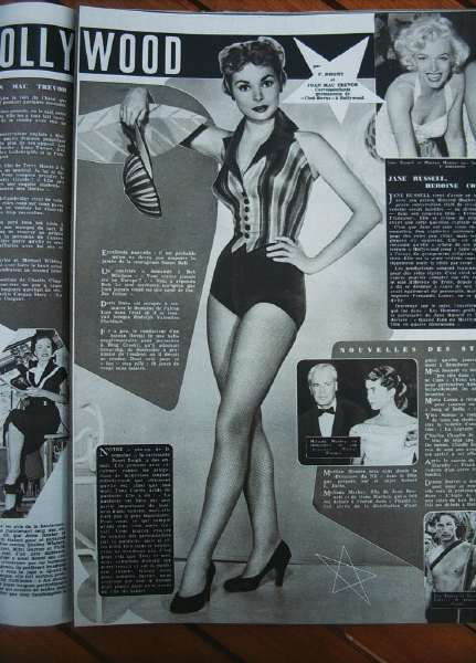 Janet Leigh Marilyn Monroe