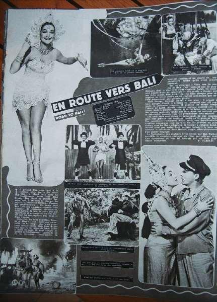 Dorothy Lamour Bing Crosby Bob Hope