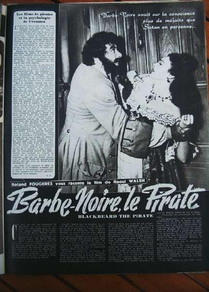 Linda Darnell Robert Newton Blackbeard The Pirate