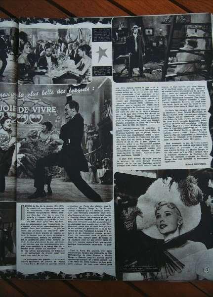 Mel Ferrer Zsa Zsa Gabor Moulin Rouge
