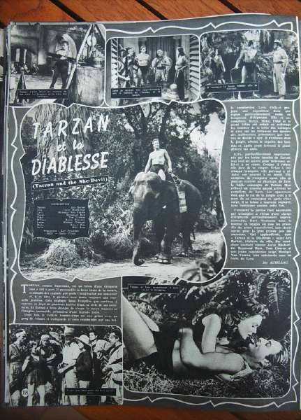 Lex Barker Joyce McKenzie Tarzan