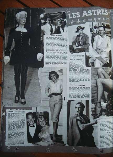 Lana Turner Rosemary Clooney