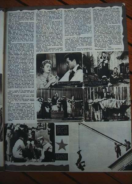 Tony Curtis Janet Leigh Houdini