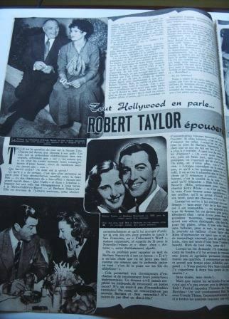 Ursula Thiess Robert Taylor
