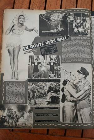 Dorothy Lamour Bob Hope Bing Crosby