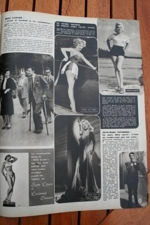 Marilyn Monroe Mamie Van Doren Diana Dors