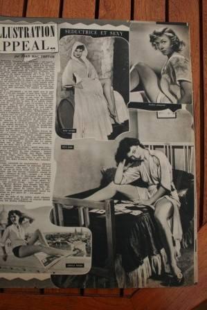 Jean Peters Gloria Grahame Rita Gam