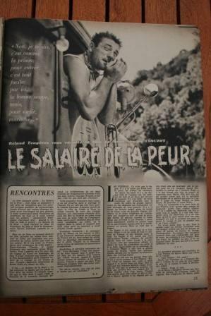 Yves Montand Charles Vanel Le Salaire De La Peur